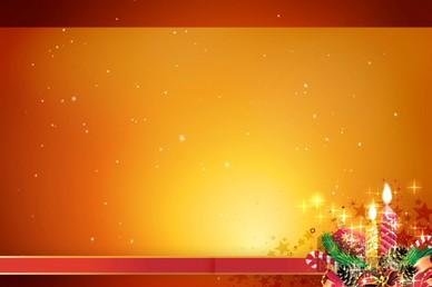 Christmas Candle Worship Video Loop