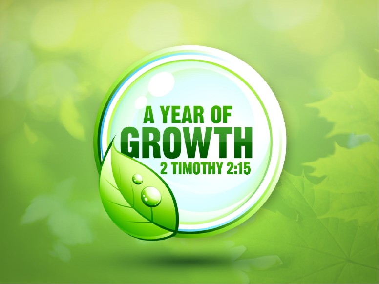New Year Spiritual Growth PowerPoint