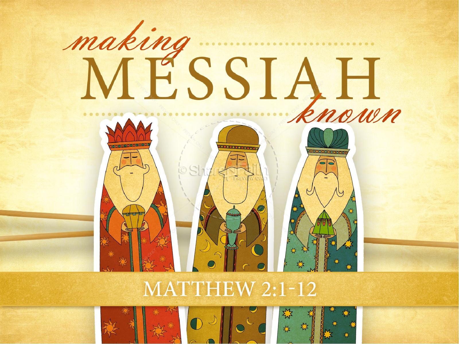 Messiah PowerPoint