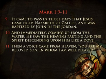 Baptism of the Lord Jesus Church PowerPoint