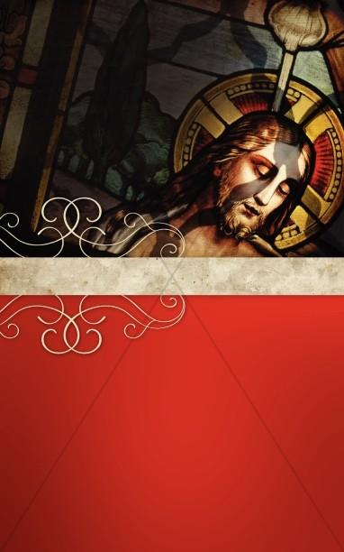 Baptism of Jesus Church Bulletin Cover