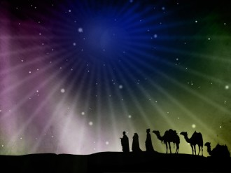 Epiphany Wise Men Worship Background