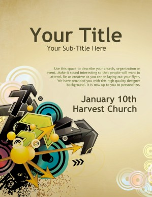 Direction Church Flyer Templates