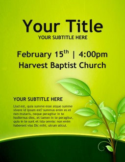 Christian Growth Church Flyers