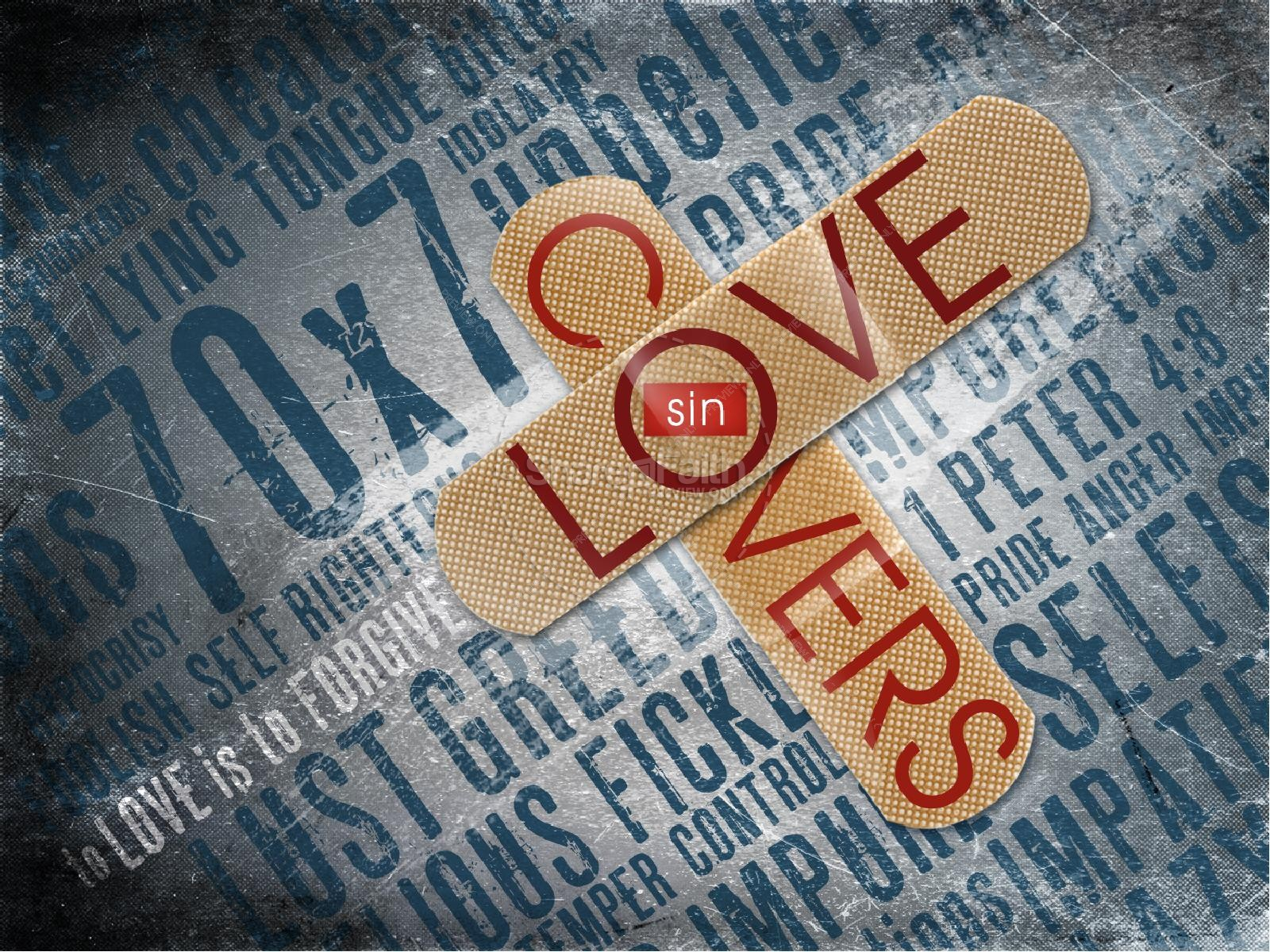 Love Covers A Multitude Of Sin PowerPoint Sermon | slide 1