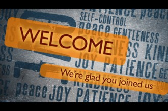 Fruits of the Spirit Welcome Video
