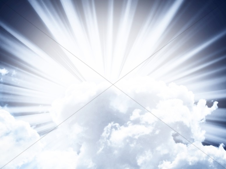 Clouds Worship Background