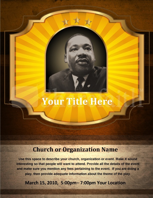 MLK Flyers | page 1
