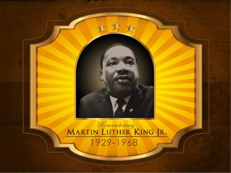Martin Luther King Jr PowerPoint Template