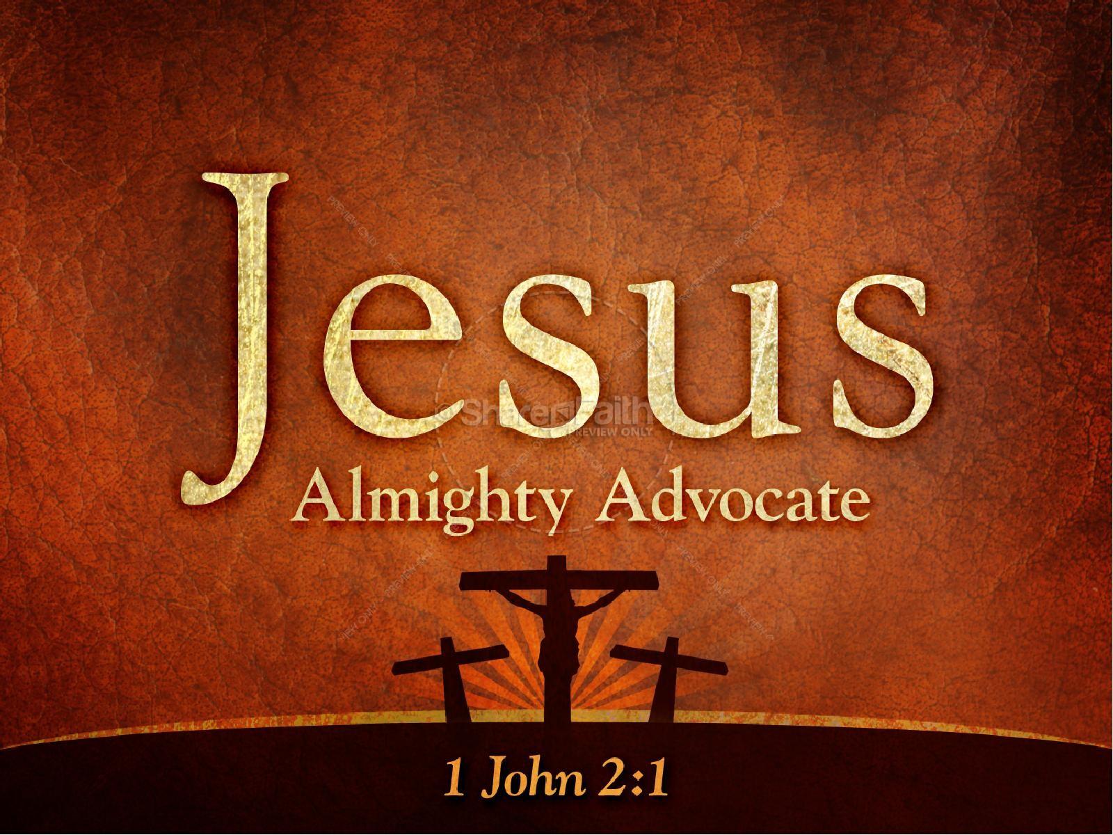 Jesus Advocate PowerPoint Sermon