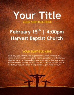 Crosses Church Flyer