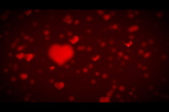 Valentine Day Hearts Worship Video Loop