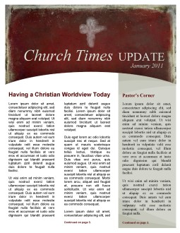 Ash Wednesday Church Newsletter