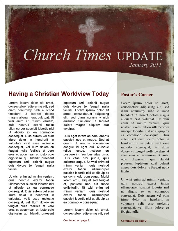 Ash Wednesday Church Newsletter