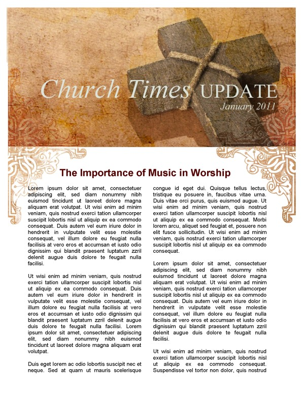 Vintage Church Newsletter