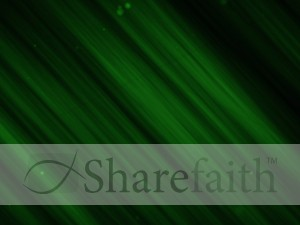 Green Contemporary Worship Background
