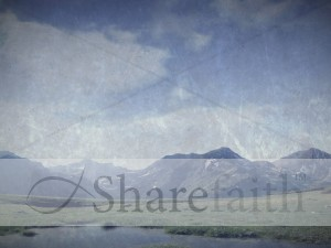 Mountains Worship Background