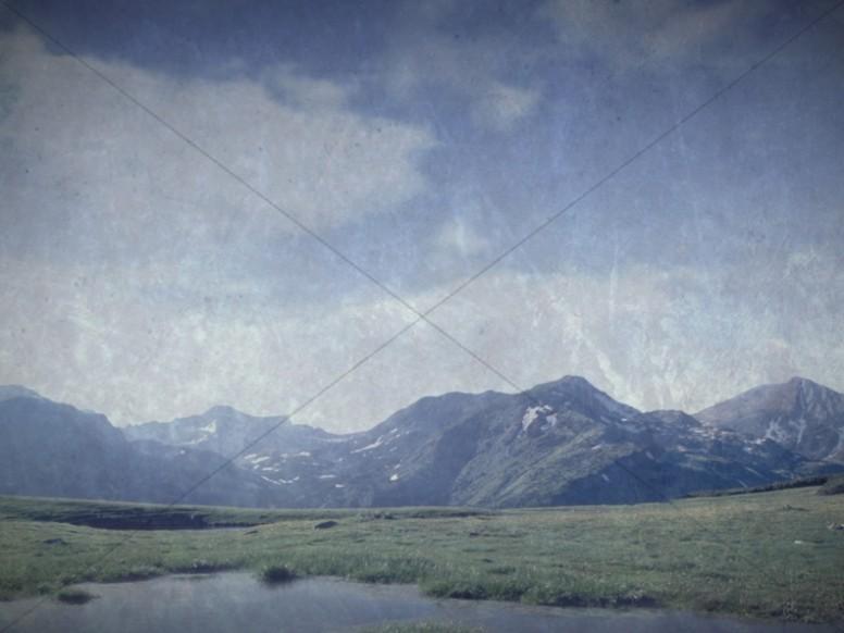 Mountains Worship Background
