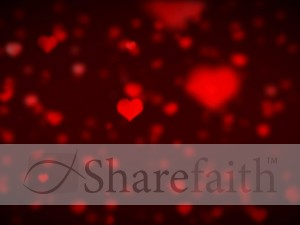 Valentine's Day Worship Background