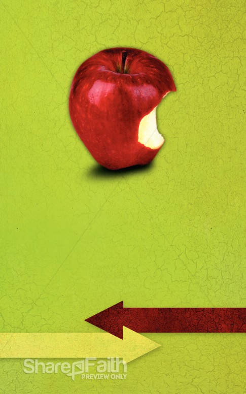 Apple Church Bulletin Cover