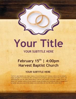 free religious flyer templates word .