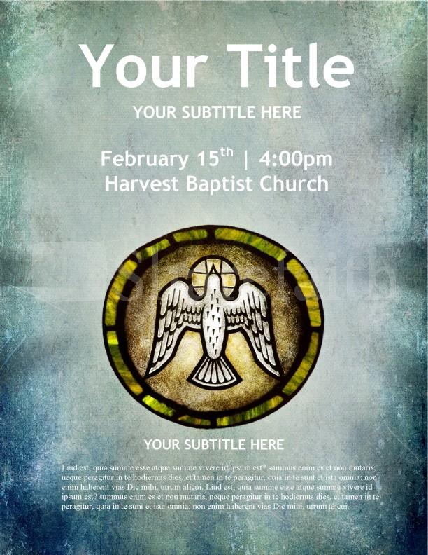 Dove Holy Spirit Church Flyer