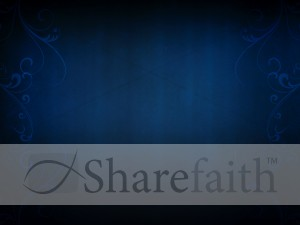 Blue Worship PowerPoint Backgrounds