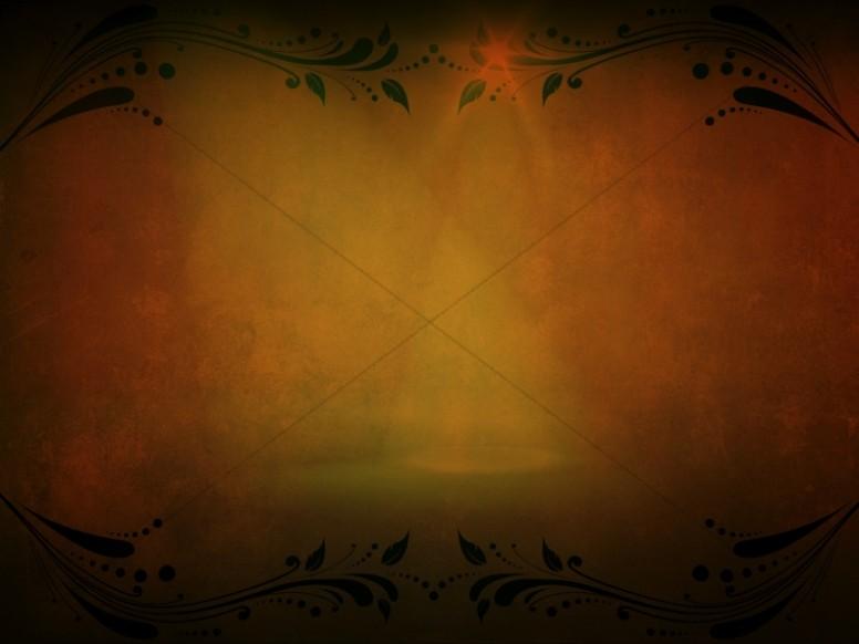 Amber Flourishes Worship Backgrounds