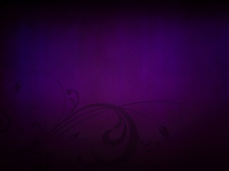 Purple Flourishes Worship Slides