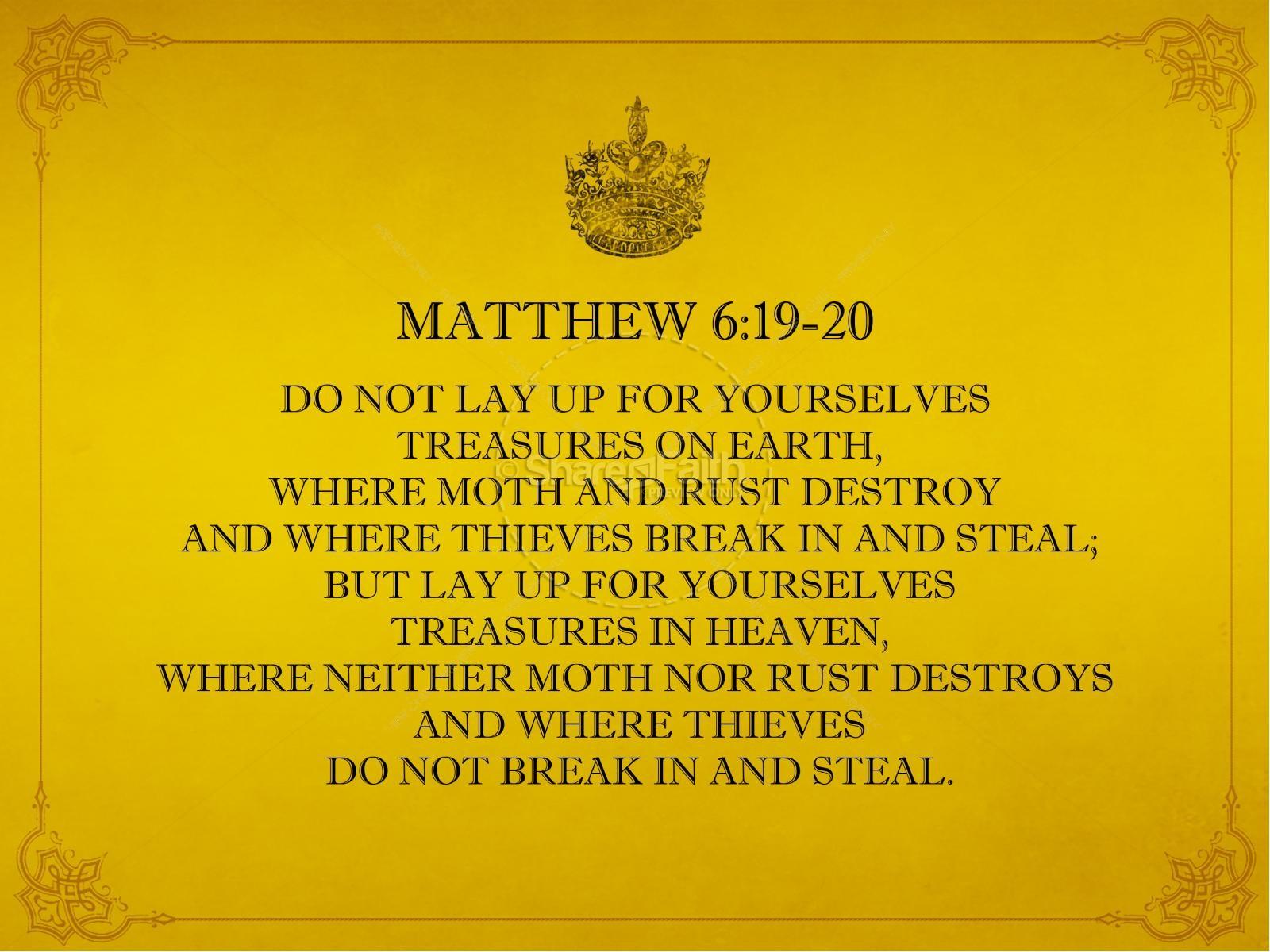 Heavenly Treasure PowerPoint Sermon | slide 4