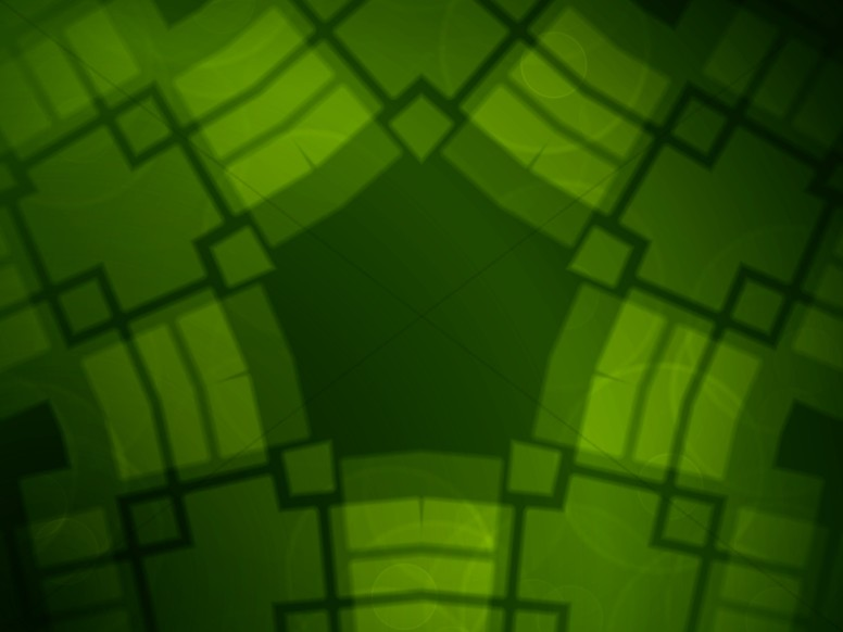 Green Pattern Easy Worship Backgrounds