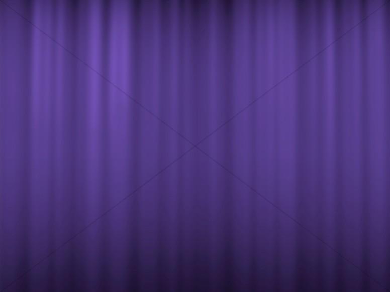 Purple Wavy Worship Slides