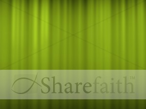 Green Striped Worship Slides