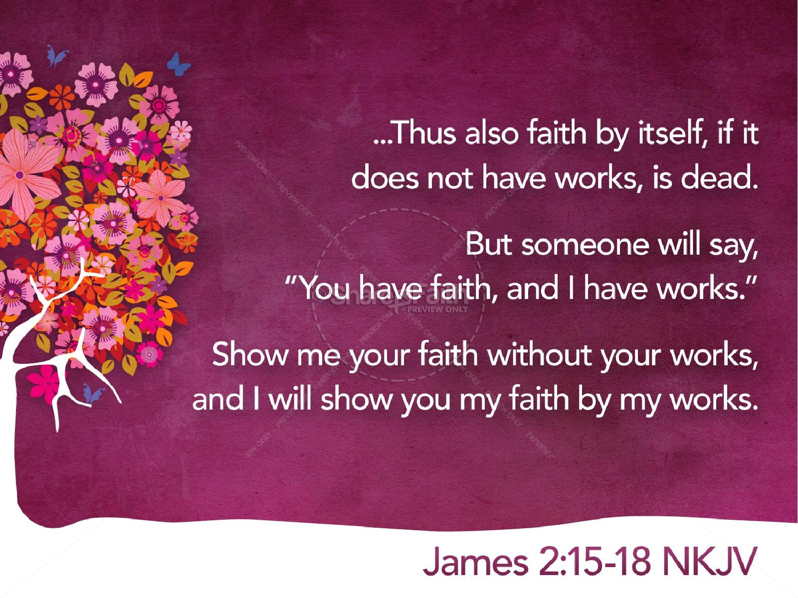 Faith PowerPoint Sermon