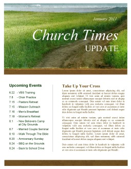 The Path Church Newsletter Template