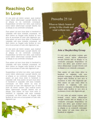 Abide In Me Church Newsletter