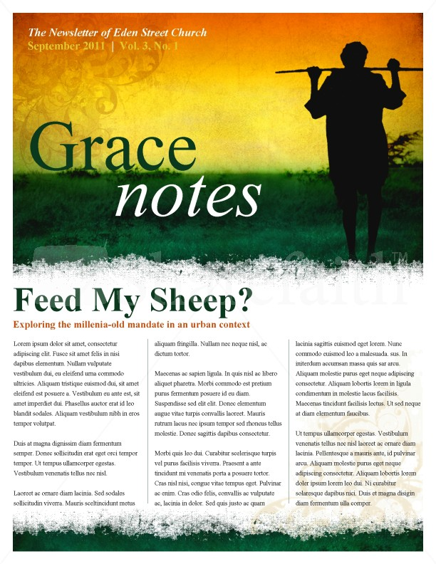 Shepherd Church Newsletter