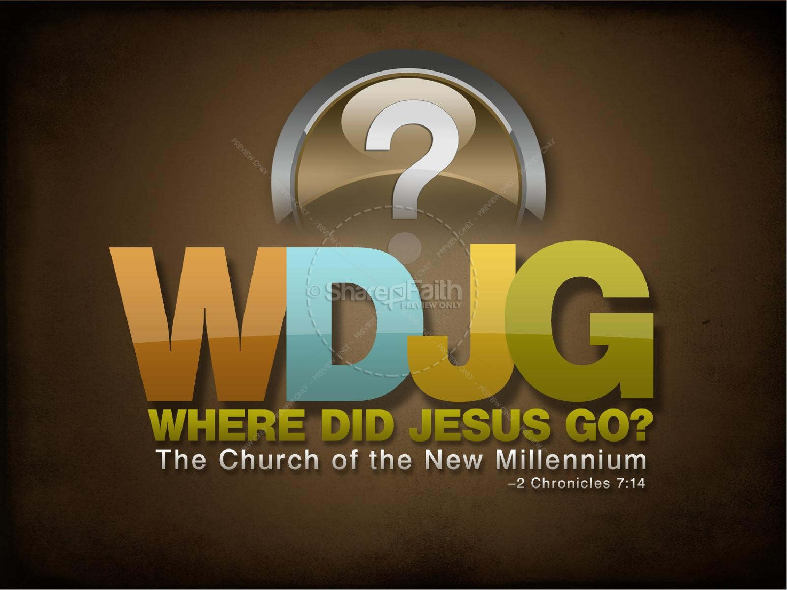 Where Did Jesus Go PowerPoint Sermon | slide 1