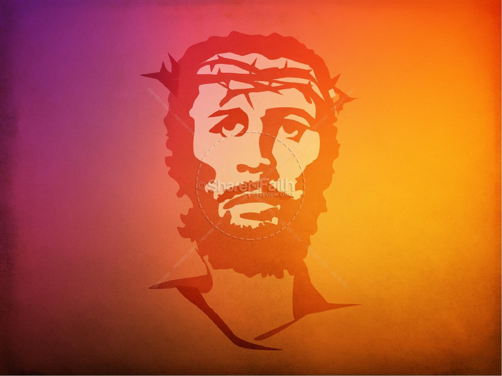 Jesus on the Cross PowerPoint Template | slide 7
