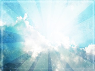 Clouds Worship Background Template