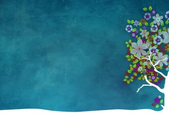 Flowering Tree Worship Backgrounds