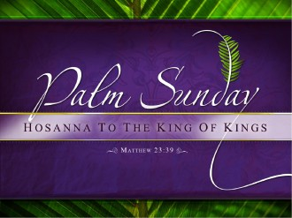 Palm Sunday PowerPoint Template