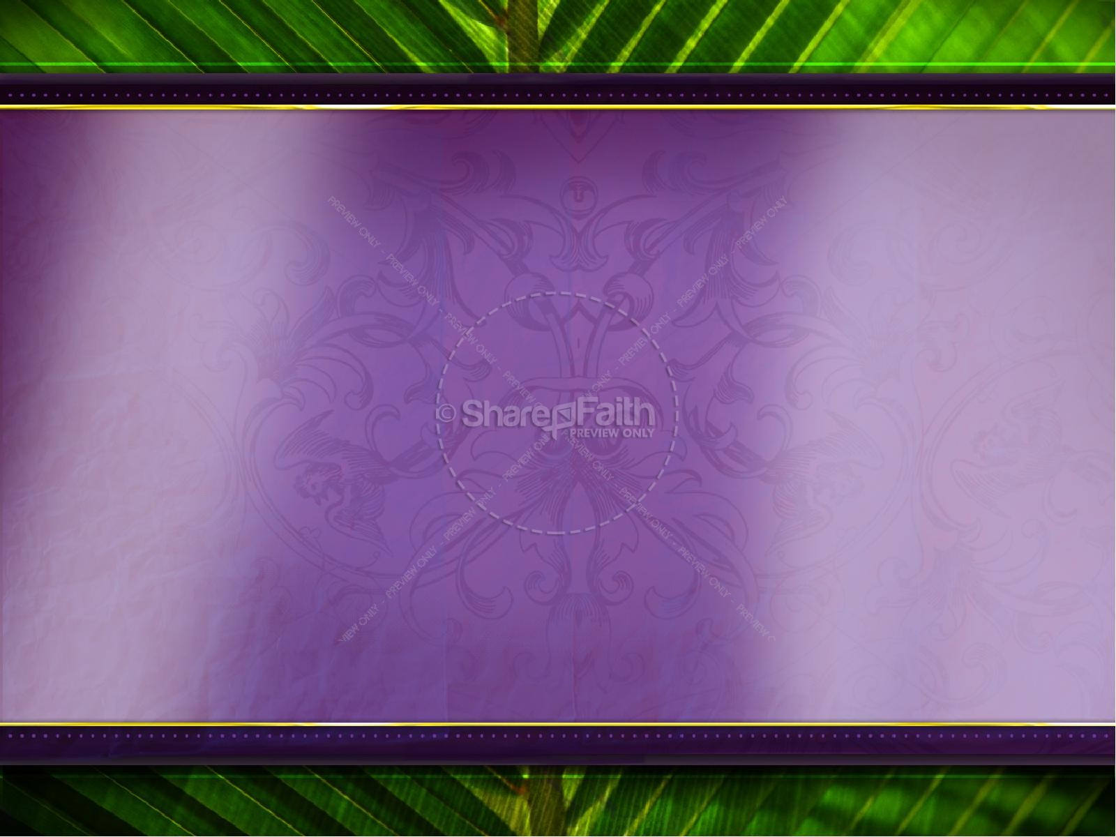 Palm Sunday PowerPoint Template | slide 6