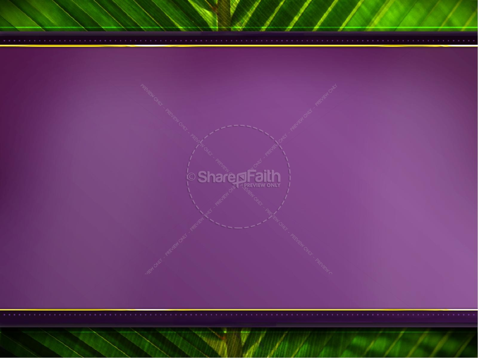 Palm Sunday PowerPoint Template | slide 7