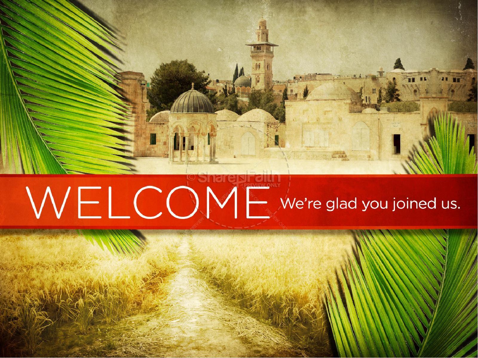 Palm Sunday Bible Sermon PowerPoint | slide 4