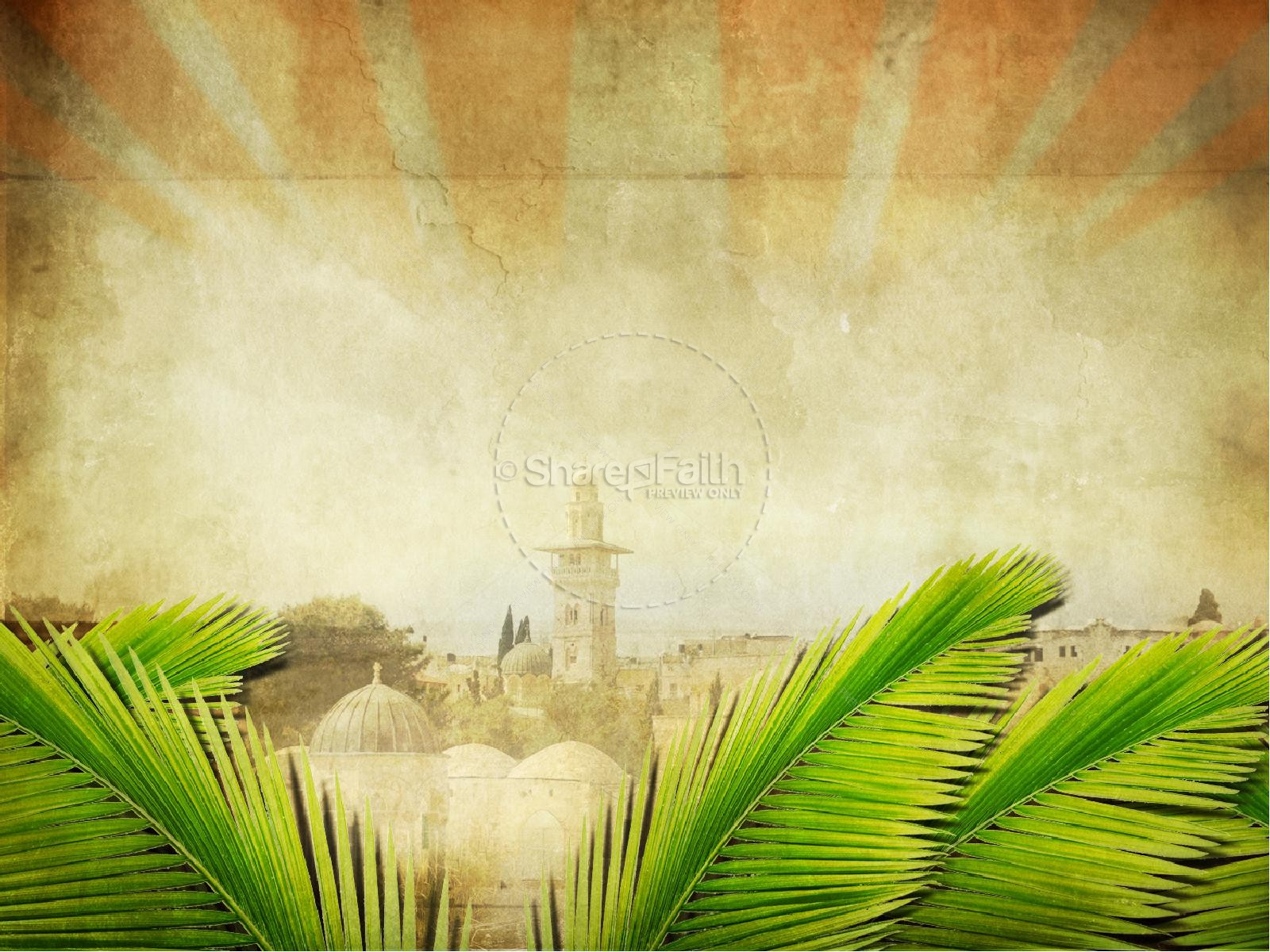 Palm Sunday Bible Sermon PowerPoint | Easter Sunday ... - photo#43