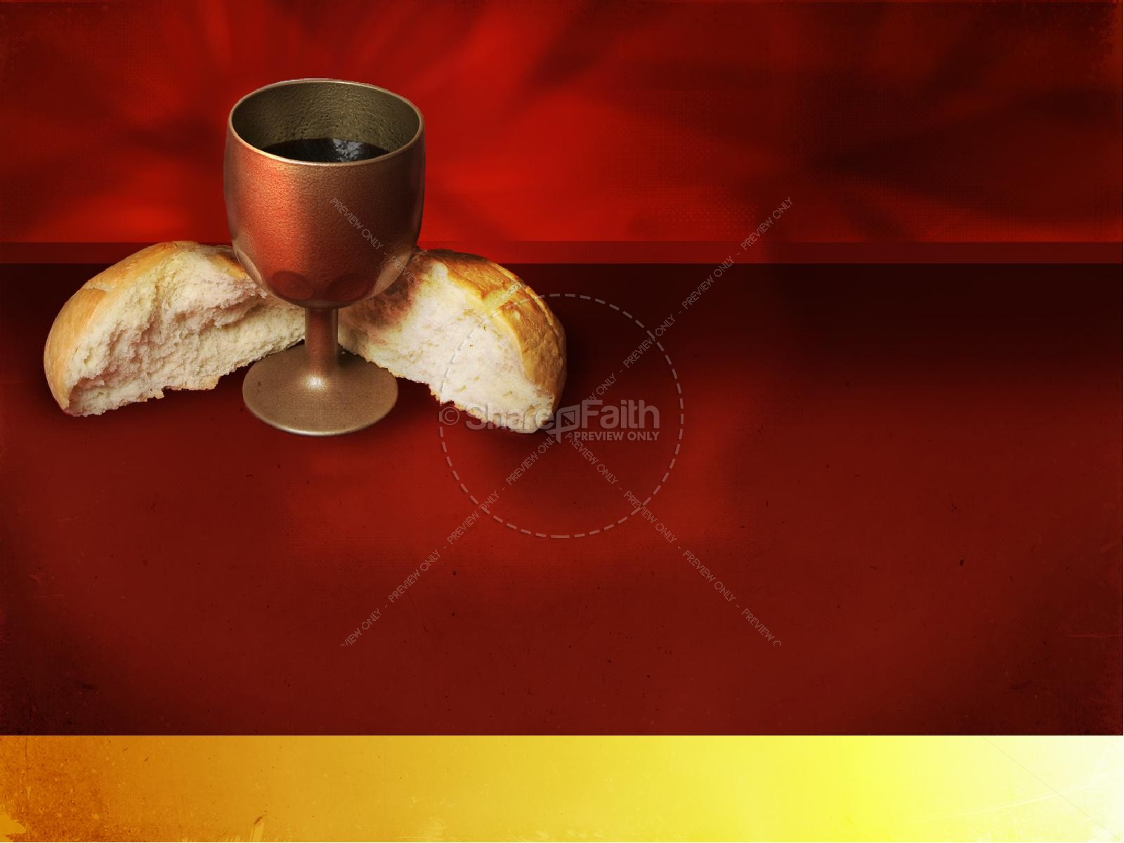 Communion PowerPoint Template