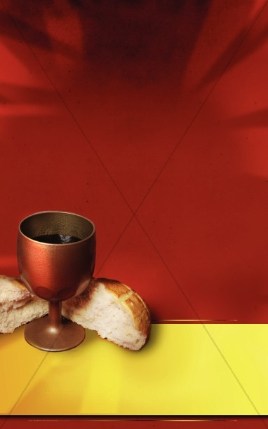 Last Supper Church Bulletin