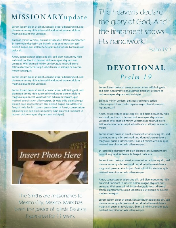 Easter Church Newsletter | page 2