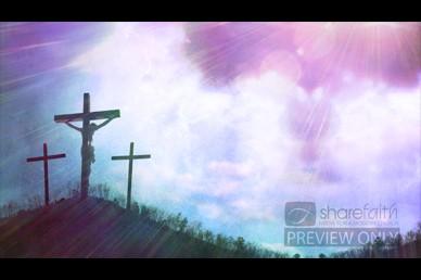 Three Crosses Worship Video Loop